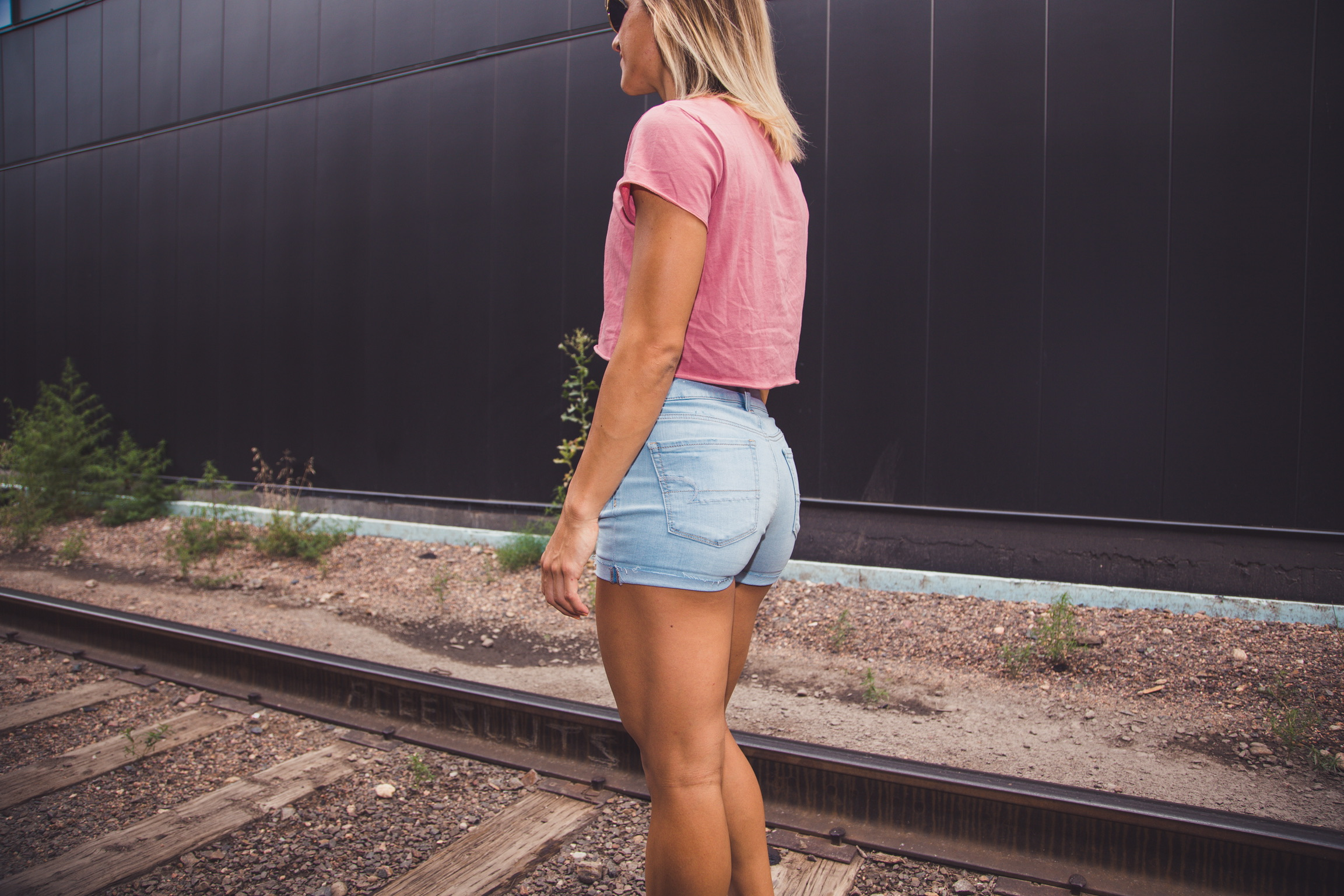 shorts for athletic legs_American Eagle