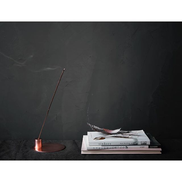 This fall our new essential oil incense and copper holders are the perfect accent to any style home. Choose from 3 scents blended in Connecticut. #fw19 #madeinusa🇺🇸