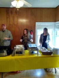 Working the 2017 CTFK Harvest Table
