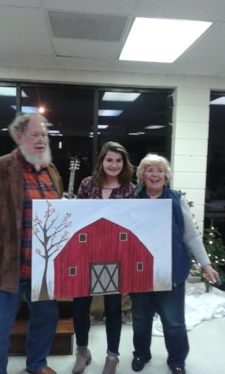 Auction Winners of a Fine Painting