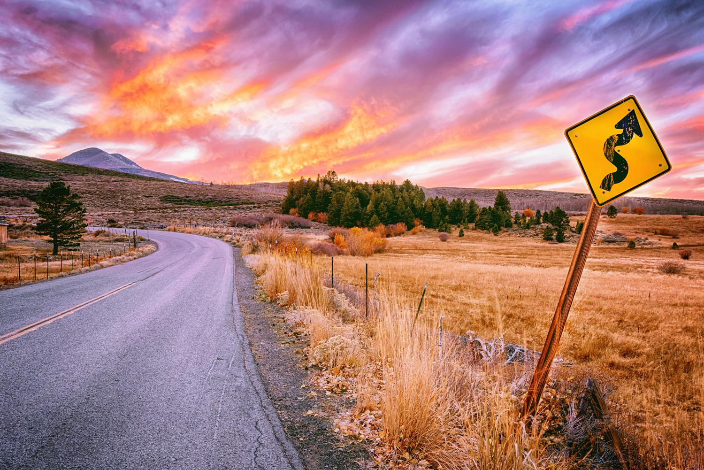 CURVY ROAD AHEAD
