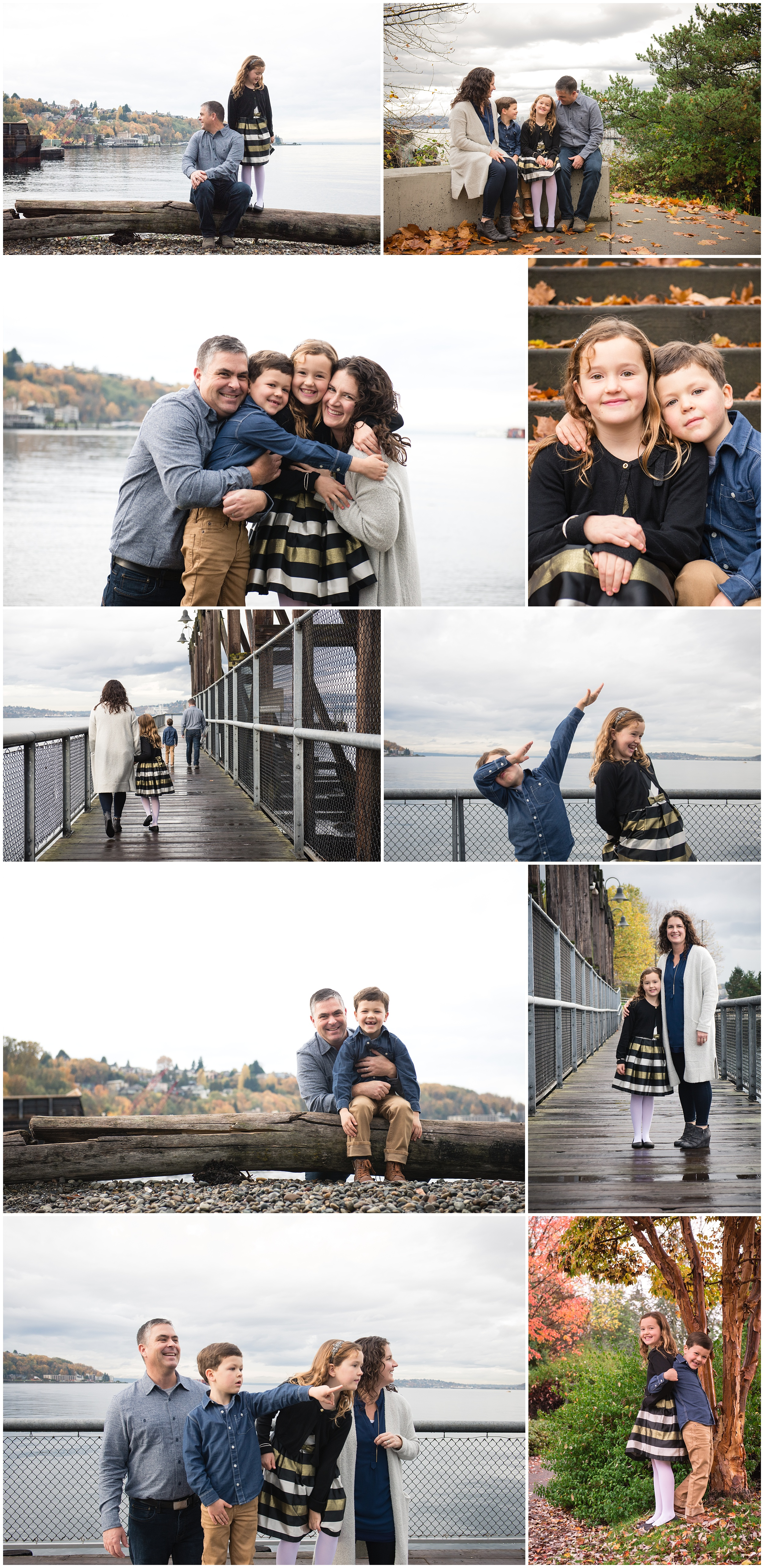 Carlson Family Photography Session Jack Block Park Seattle WA