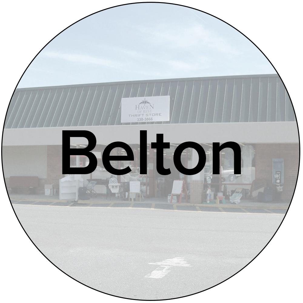 Belton Store - 416 S. Main St., Belton, SC 29627864-338-3866Mon-Sat:9AM-5PM