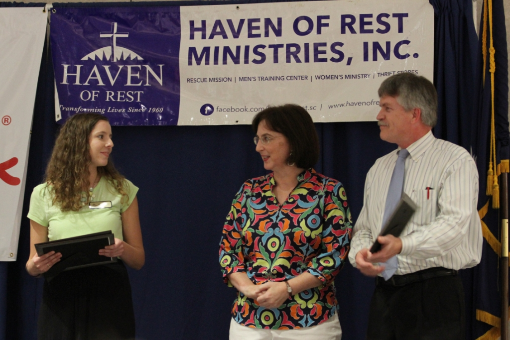 Compassion In Action Award Recipients: The Swathwood Family
