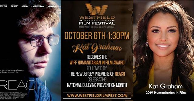 Tomorrow begins the first day of the Westfield International Film Festival! So excited to see all the amazing content and films up for nomination.  On Sunday, October 6th, Reach will be screened at 1:30pm! Click the link to purchase tickets - https://www.eventbrite.com/e/humanitarian-in-film-ceremony-wiff-film-block-6-tickets-71136999681