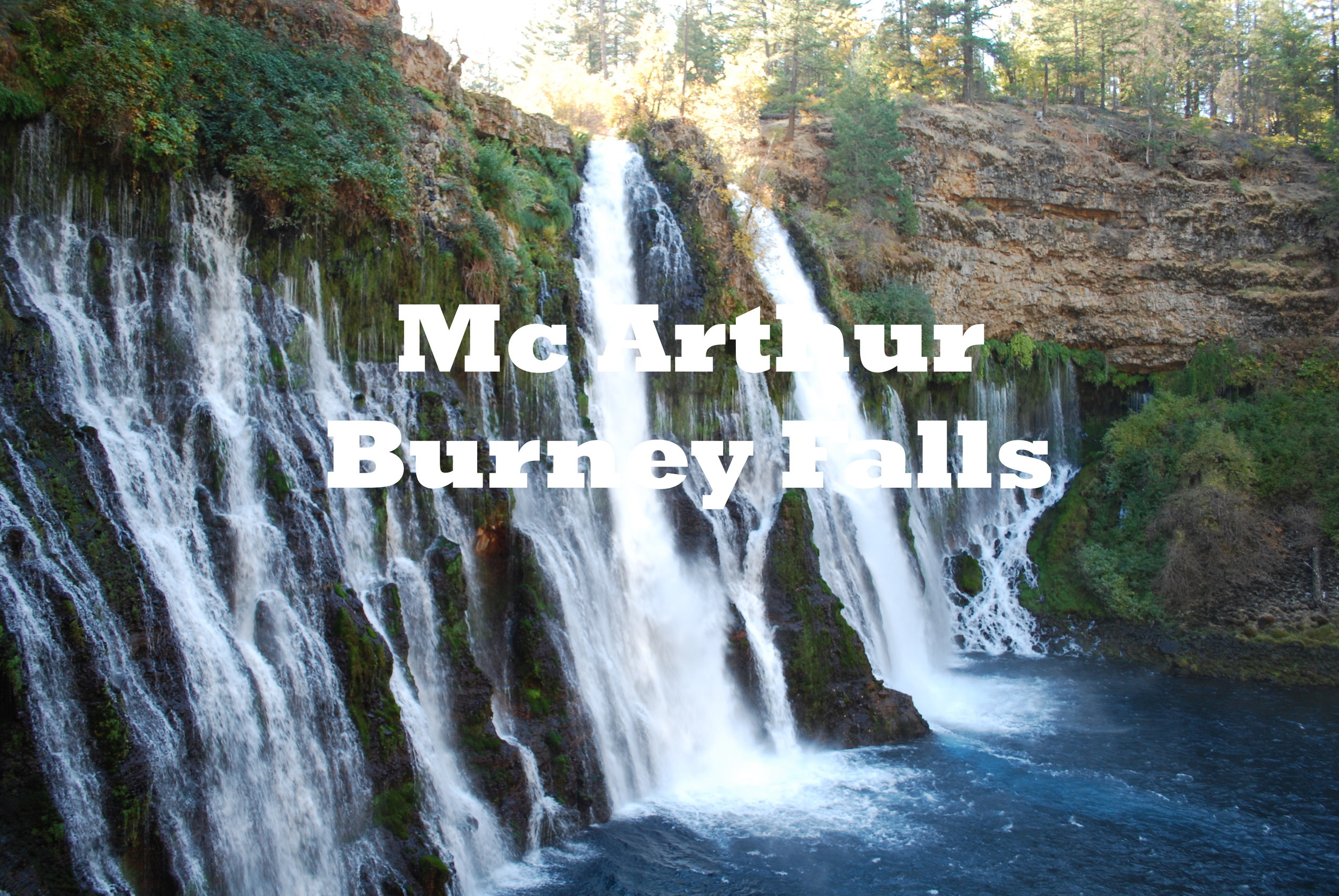 Mc Arthur Burney Falls