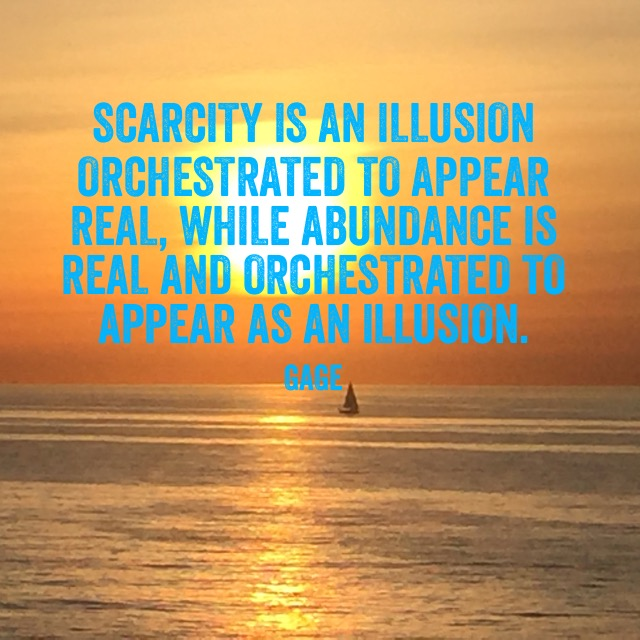 Scarcity is an Illusion