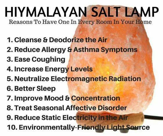 Hiymalayan Salt Lamp