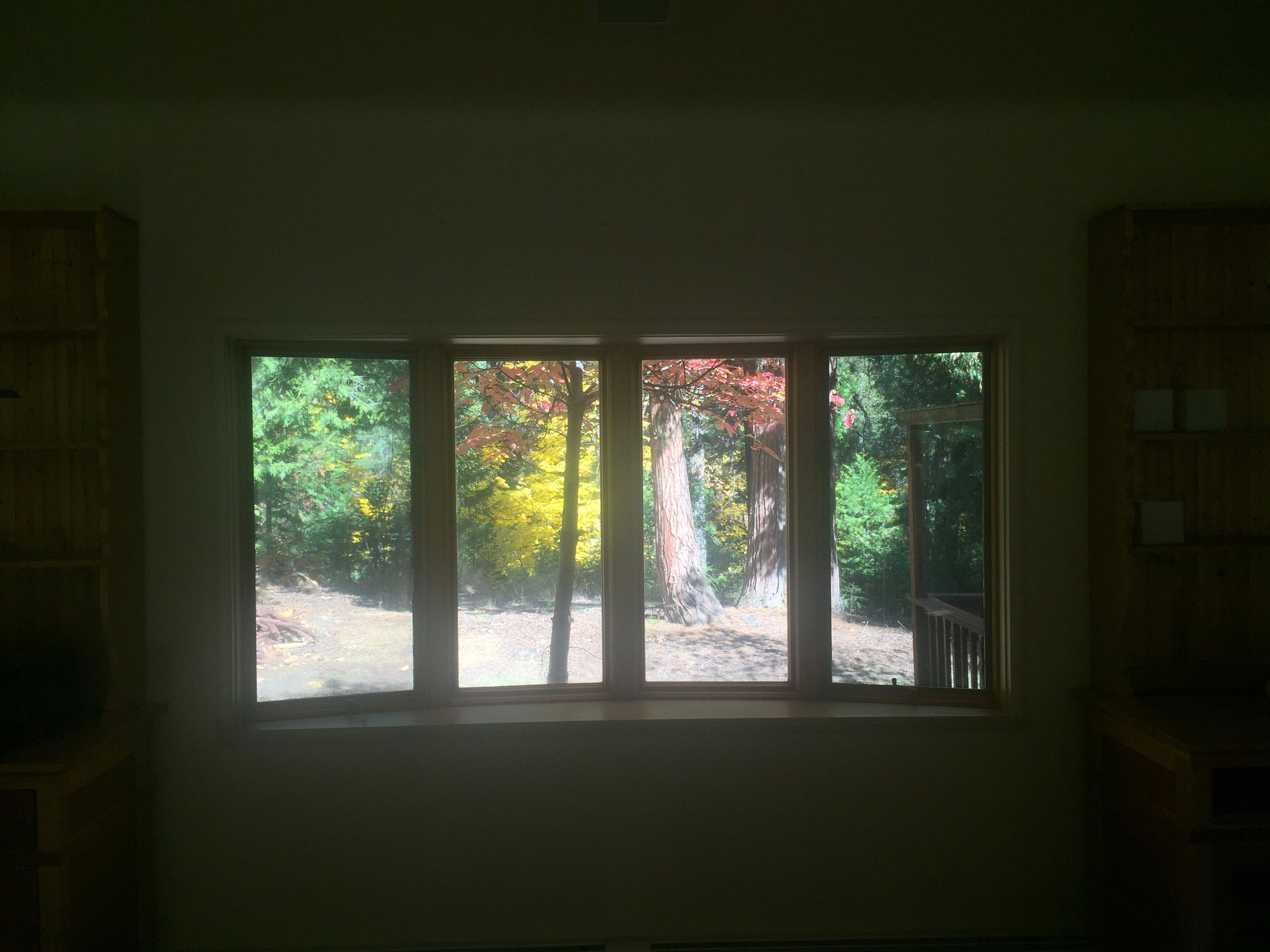 View outside the window of the Event Room