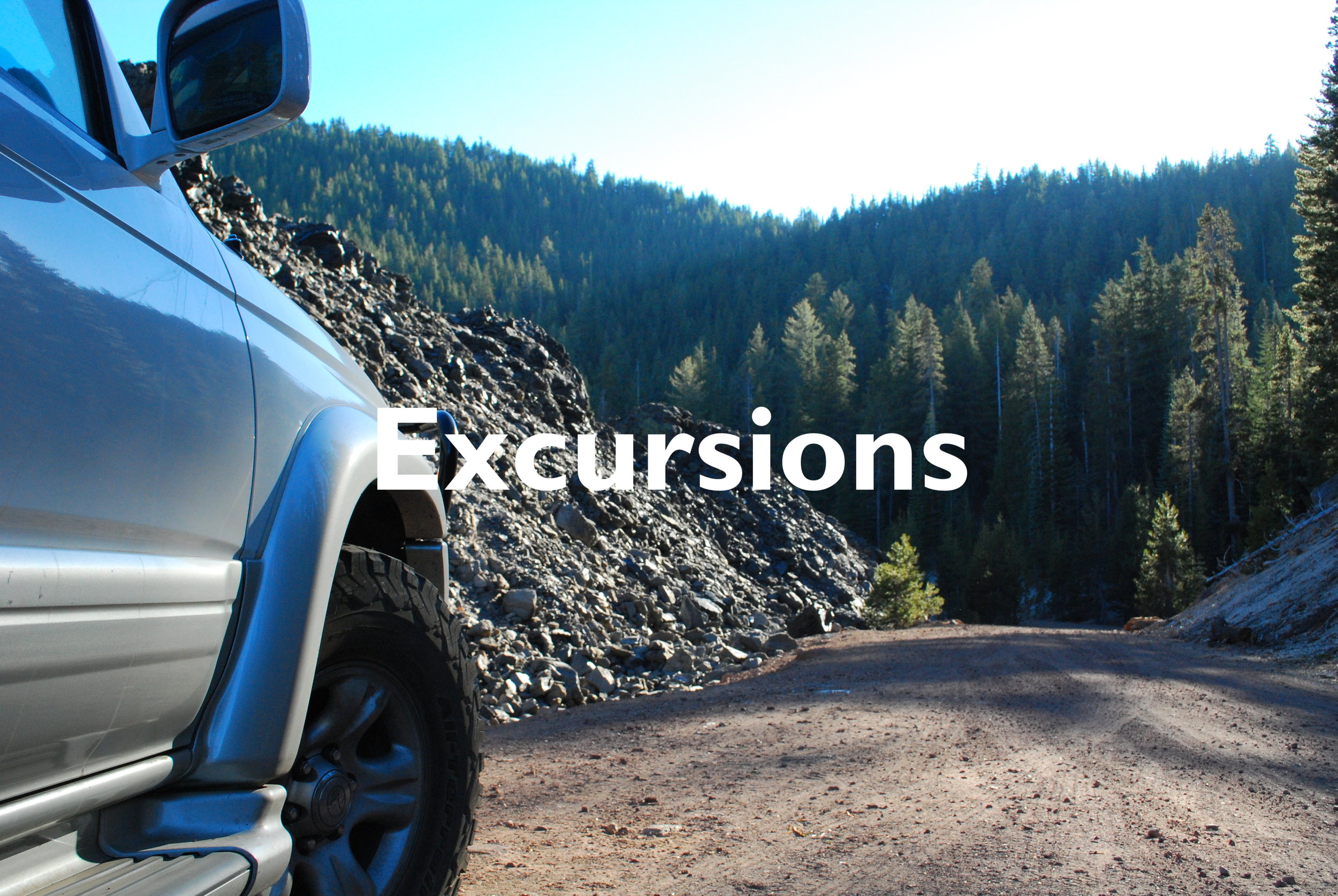 Click on the photo to learn more about our Excursion Experiences, here at Energy is Everything Experience in Mount Shasta, CA