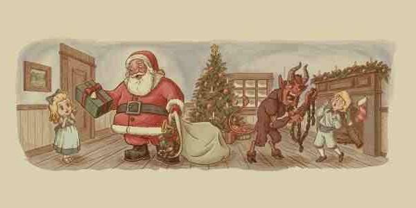 Santa Satan and Krampu