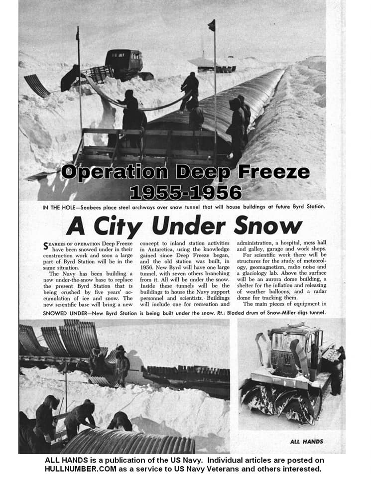 operations deep freeze