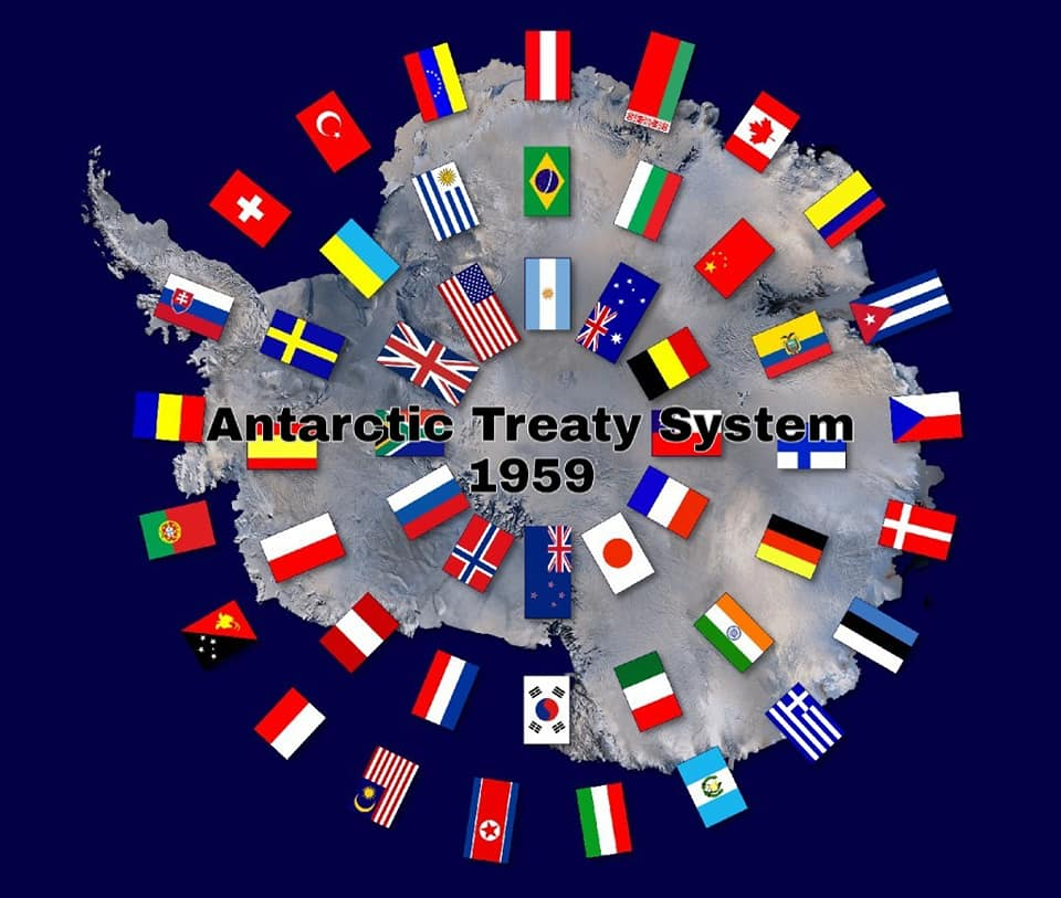 antarctic treaty system  1959