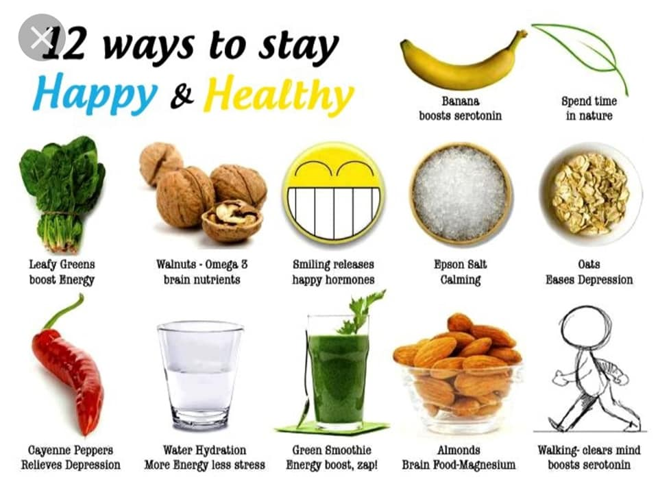 Ways to Stay Happy & Healthy