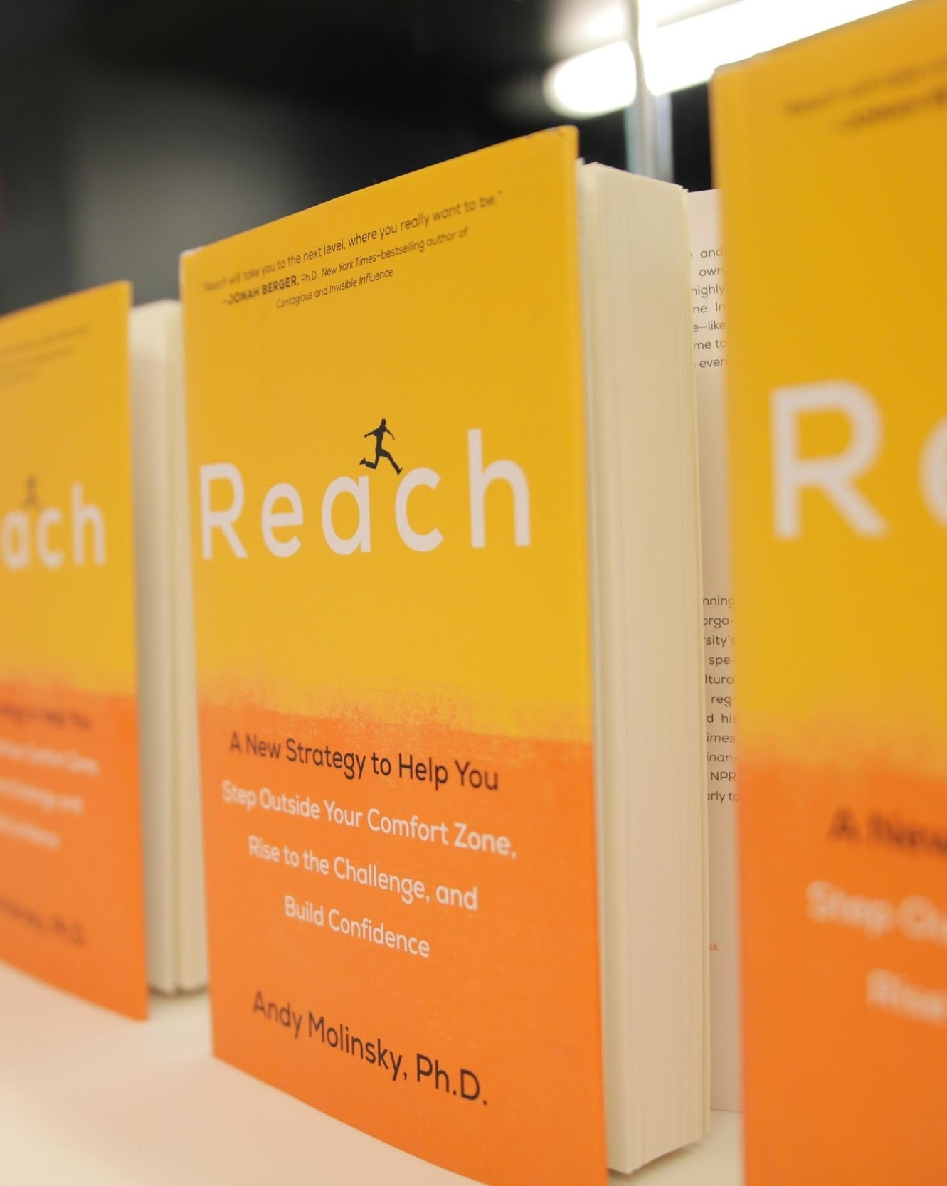 Reach Andy Molinsky Book
