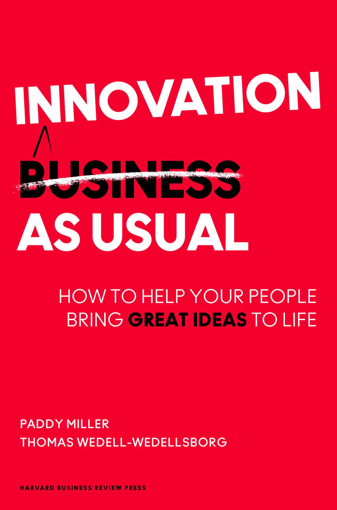 innovation as usual book cover