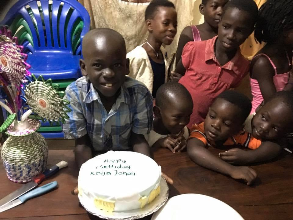 Here is Pastor Raymond's son Jonah celebrating his 7th birthday!