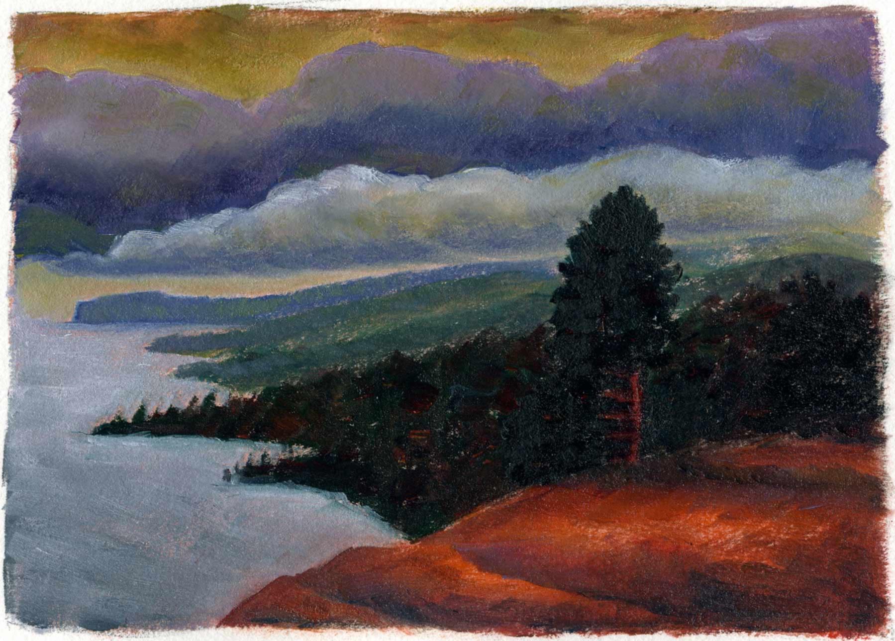 Dark Clouds at Tettegouche