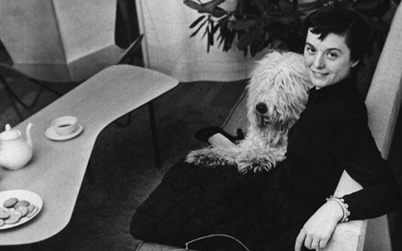 FLORENCE KNOLL (1917)  US-American architect and furniture designer was born as Florence Schust in Michigan.She studied architecture, with icons of 20th century such as Walter Gropius, Marcel Breuer and Ludwig Mies van der Rohe among others. Her moving to New York in 1941 helped with her breakthrough. In New York she met Hans Knoll, who had started his own design practice in 1938 and was building up his furniture factory. They married in 1946 and with Florence's design skills and Hans' business acumen the couple quickly gained international success.
