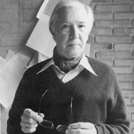 HANS J. WEGNER (1914-2007)  Considered a pioneering furniture designer of the twentieth century, the Danish Hans J. Wegner helped change the general public's view of furniture in the 1950s and 1960s. His passion for designing chairs, more than 500 of them, is recognized worldwide and reflected in his title 'the Master of the Chair'. He is famous for integrating perfectly executed joints with exquisite shapes and combining them with a constant curiosity for materials and deep respect for wood and its natural characteristics. His designs furnish minimalism with organic and natural softness.