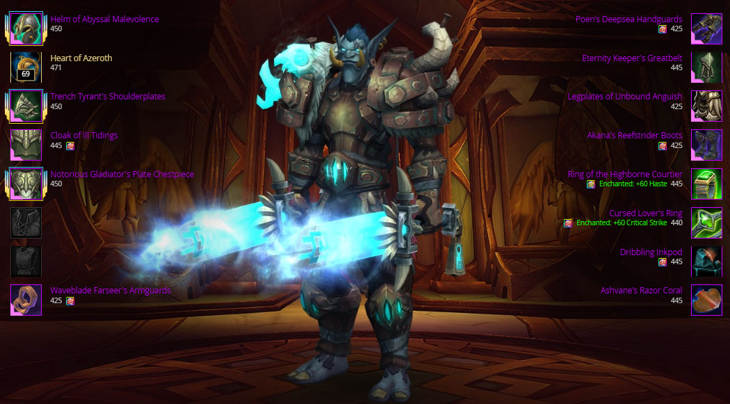 Fury Warrior Dps Guide Bfa Patch 8 2 5 Fury Warrior Dps Guide Patch 8 2 5