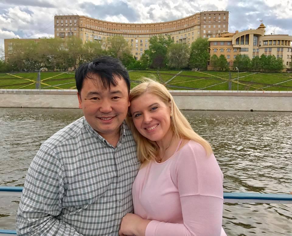 Sasha and Olga Kim