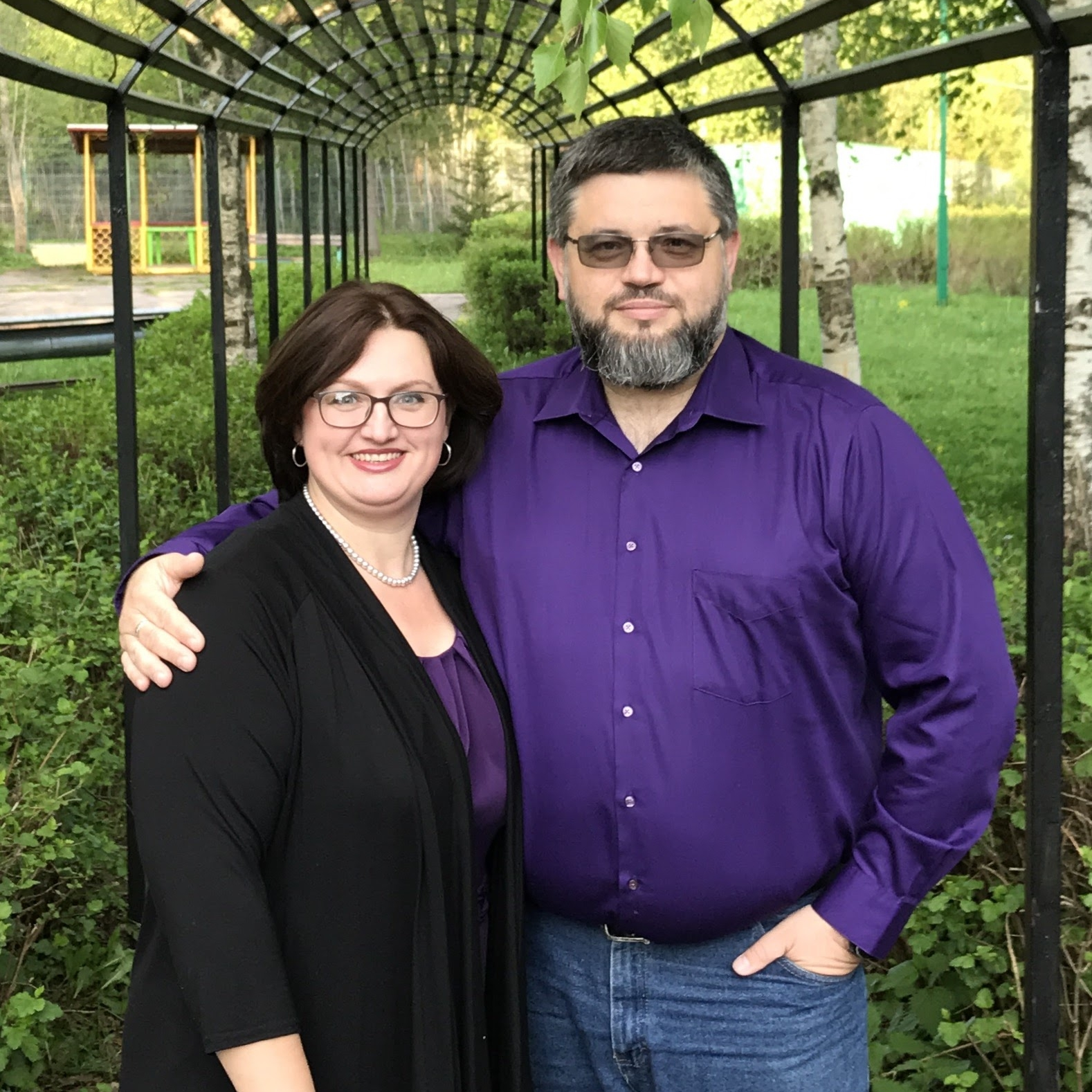 Victor and Luda Semukhin