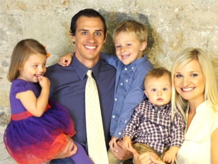 Ministry Partner, David and Katka Bordner, Liam, Ella, Teylor