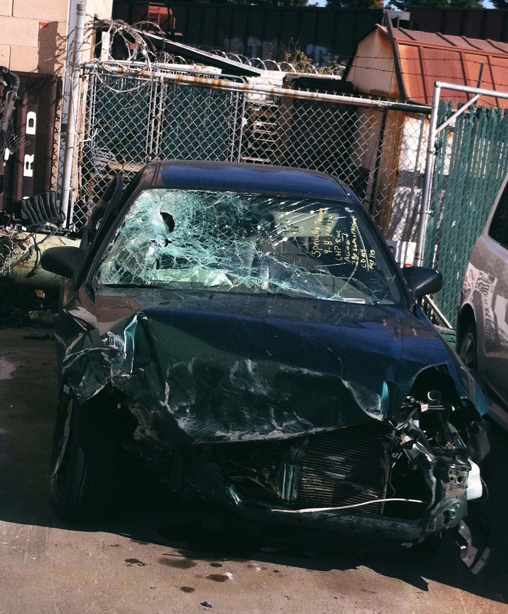 i survived the crash, though my first car, a 95' honda civic, did not