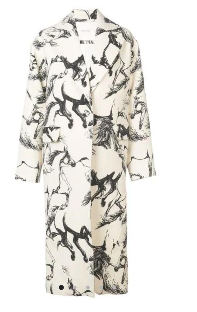 Adam Lippes - Pony Print Coat