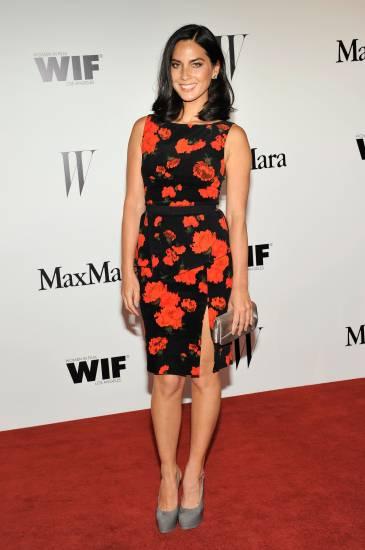 Olivia Munn at the MaxMara Women in Film 2013 Gala - Dress MaxMaraShoes Yves Saint Larent