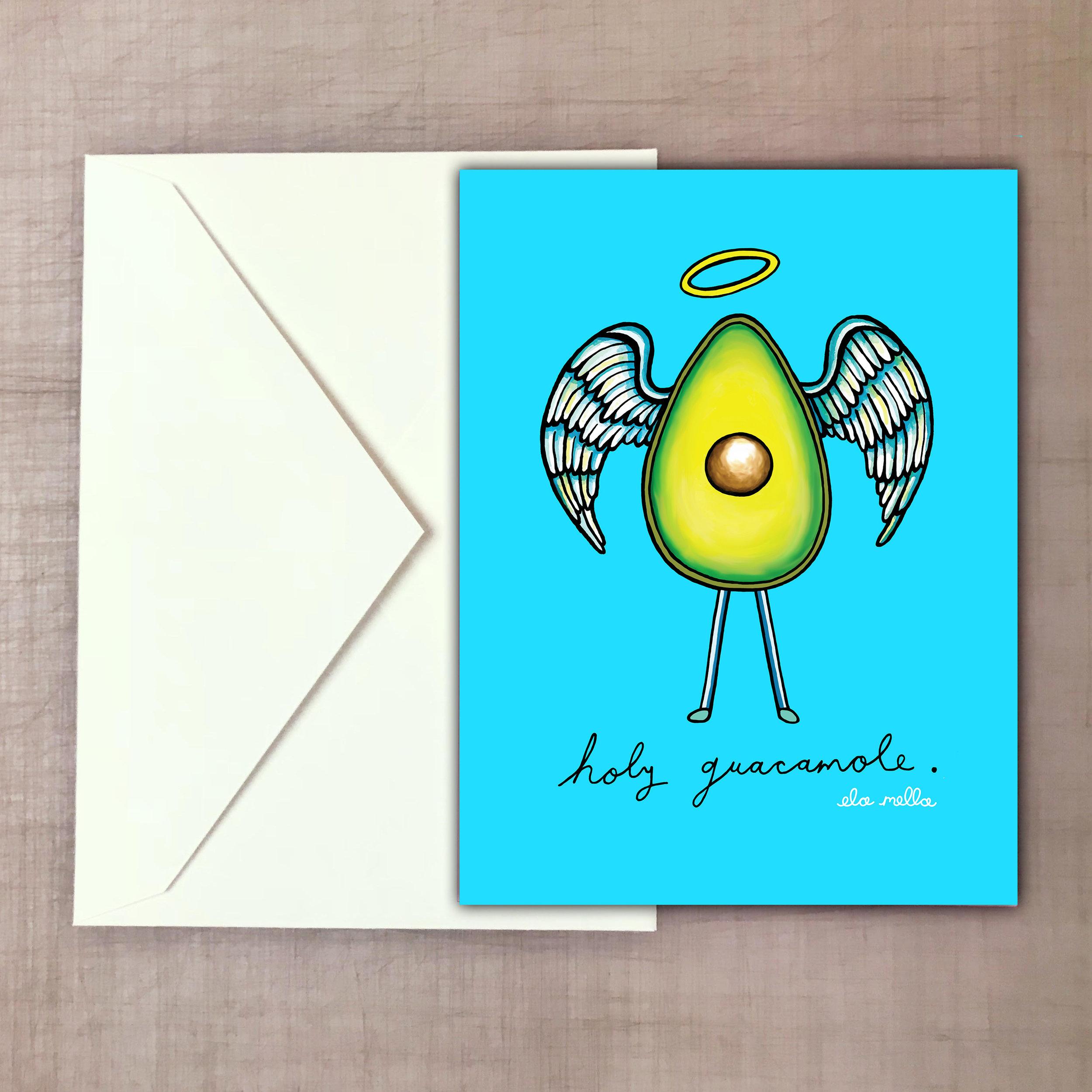 Holy Guacamole Greeting Card.jpg