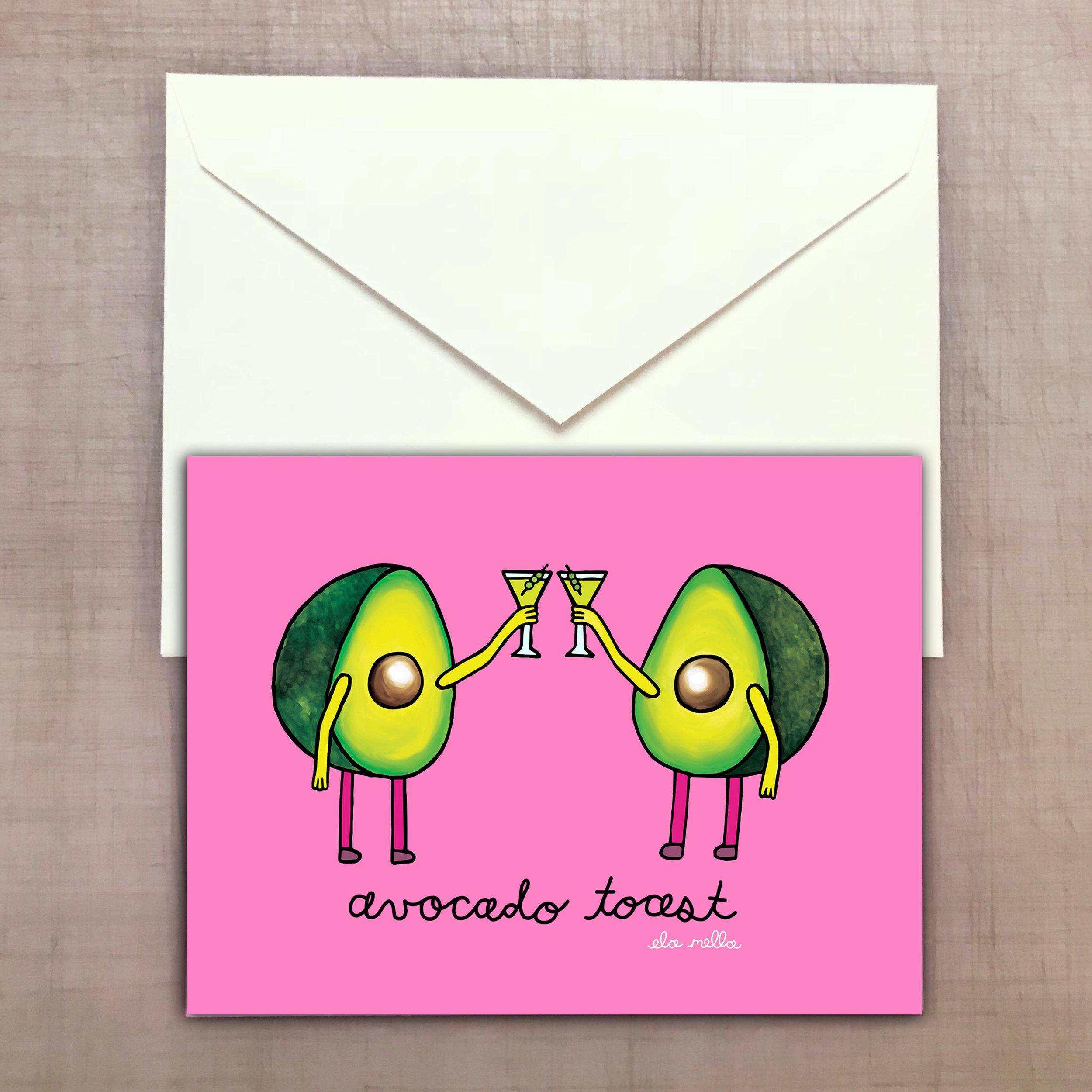 Avocado Toast Greeting Card.jpg
