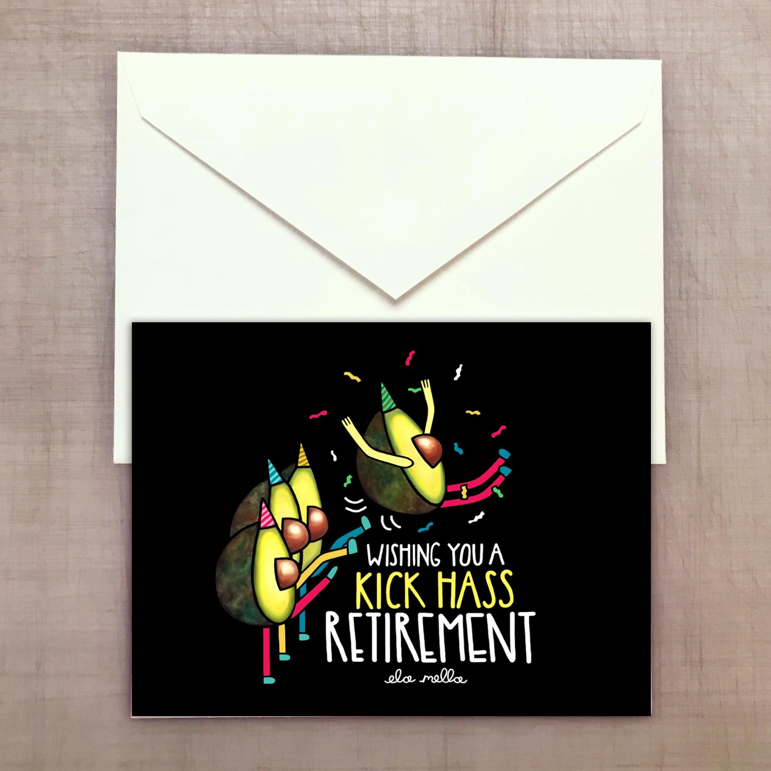 Kick Hass Retirement Greeting card.jpg