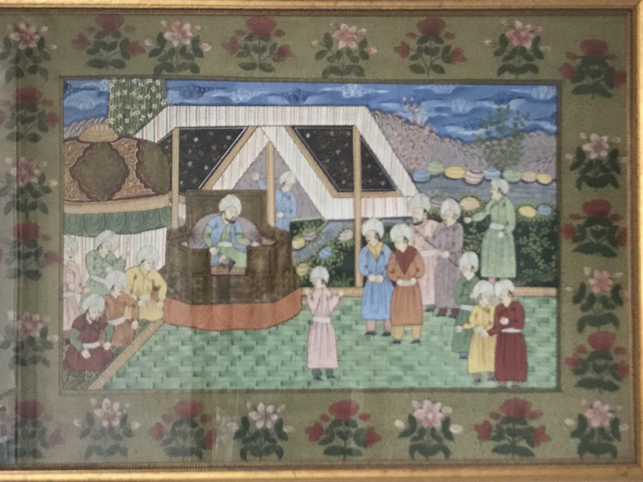 mughal tapestry
