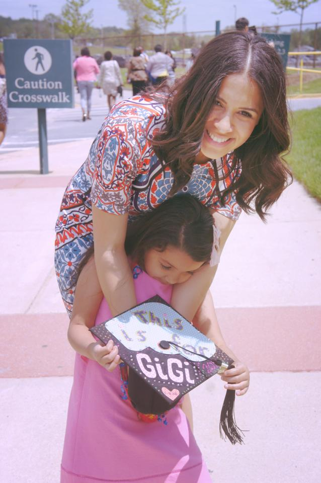 Loren and her Daughter on her Graduation day at Washington Adventist University on May 4, 2014.