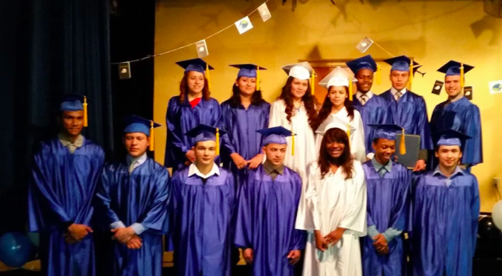 Dany's 2015 Graduation, pictured bottom right