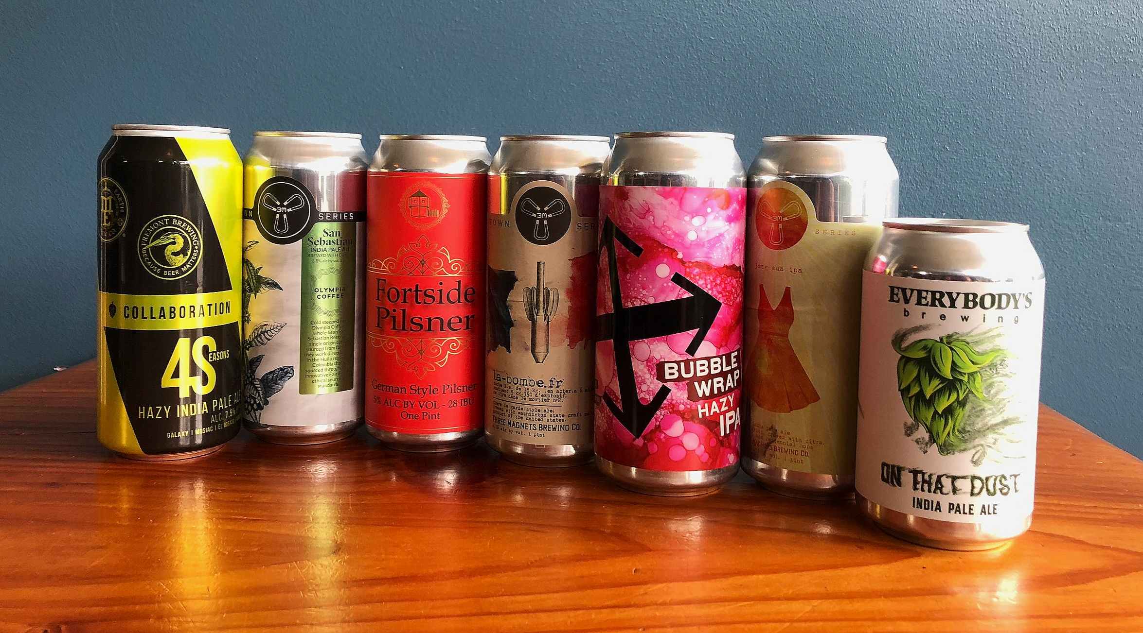 CLICK ON THESE LINKS TO LEARN MORE ABOUT THESE FEATURED BREWERIES:    Mother Earth   -   Fremont   -   Fortside   -   3 Magnets   -   Crux   -   Everybody's