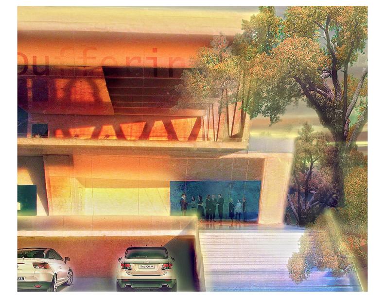Front elevation rendering