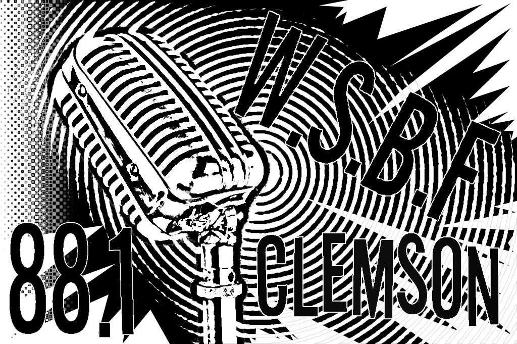Clemson University 88.1 F.M. Vinyl Logo