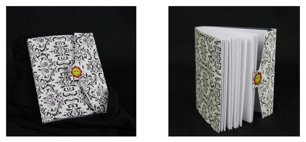 "Book Binding   Paper, Thread   4.5"" x .5"" x 5.5"""