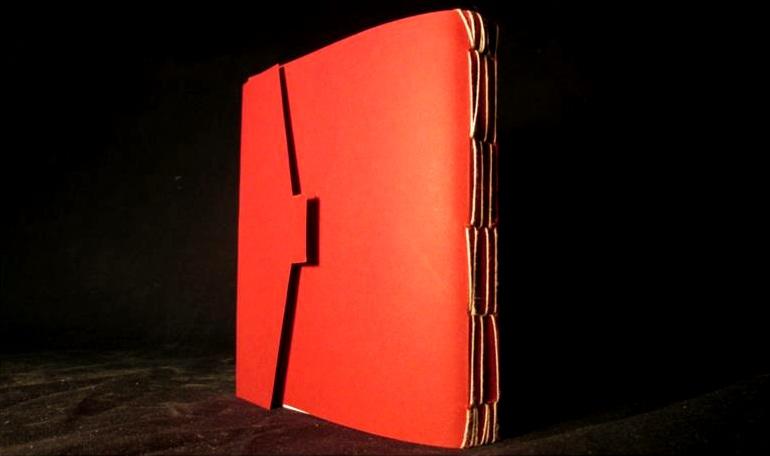 "Book Binding   "" SpellBook""   4"" x 6"" x .5"""
