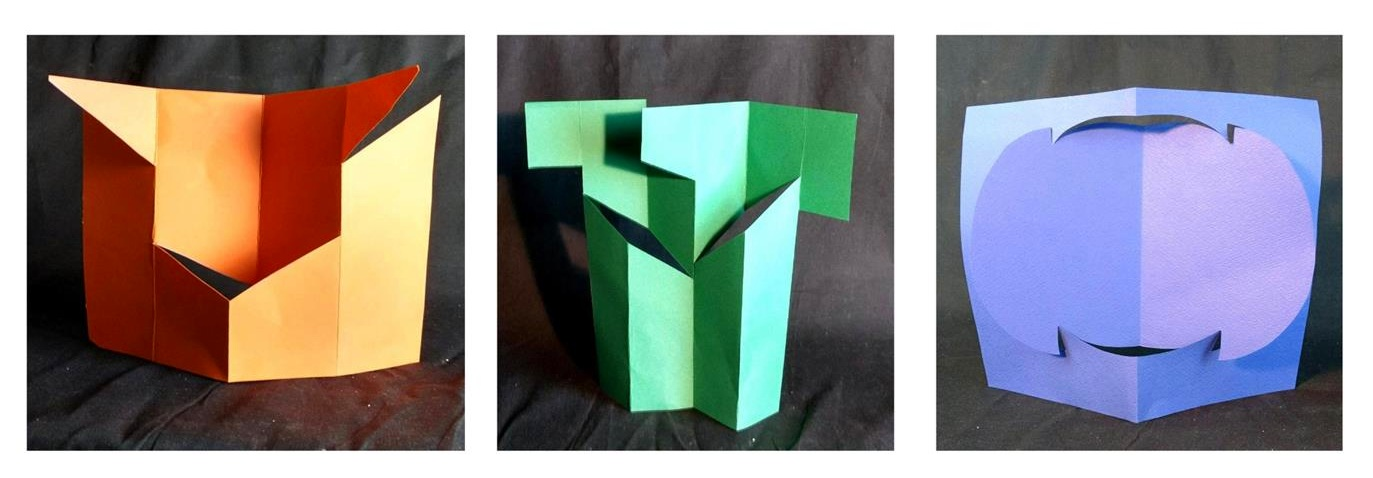"Free Standing Plane    Paper Cardstock     8.5"" x 11"""