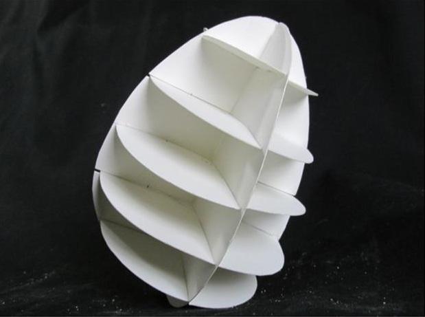"Egg Construction   Fertile Frame   Bristol Board    34.5 """