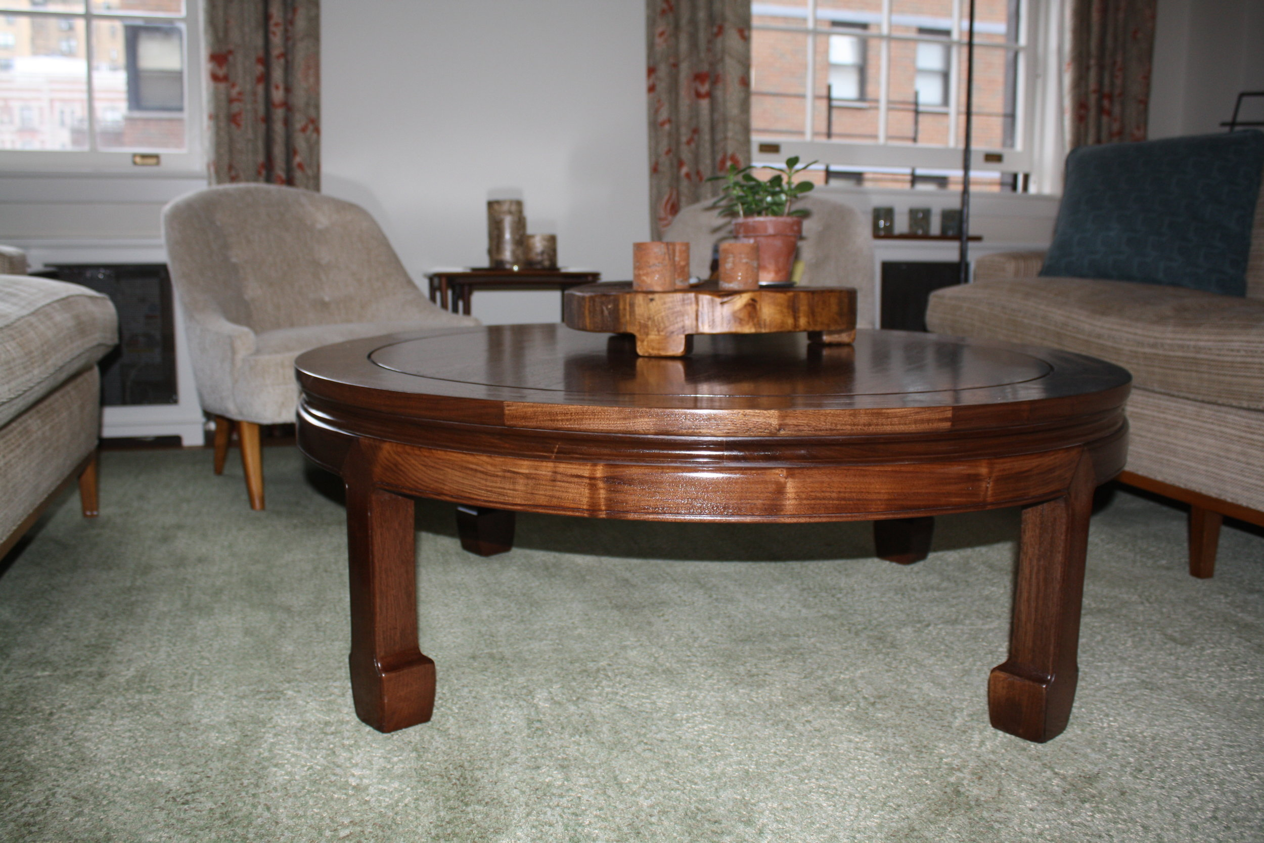 Asian influenced table