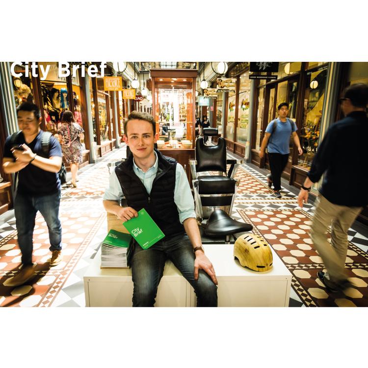 Founder for City Brief - Sam Dickinson