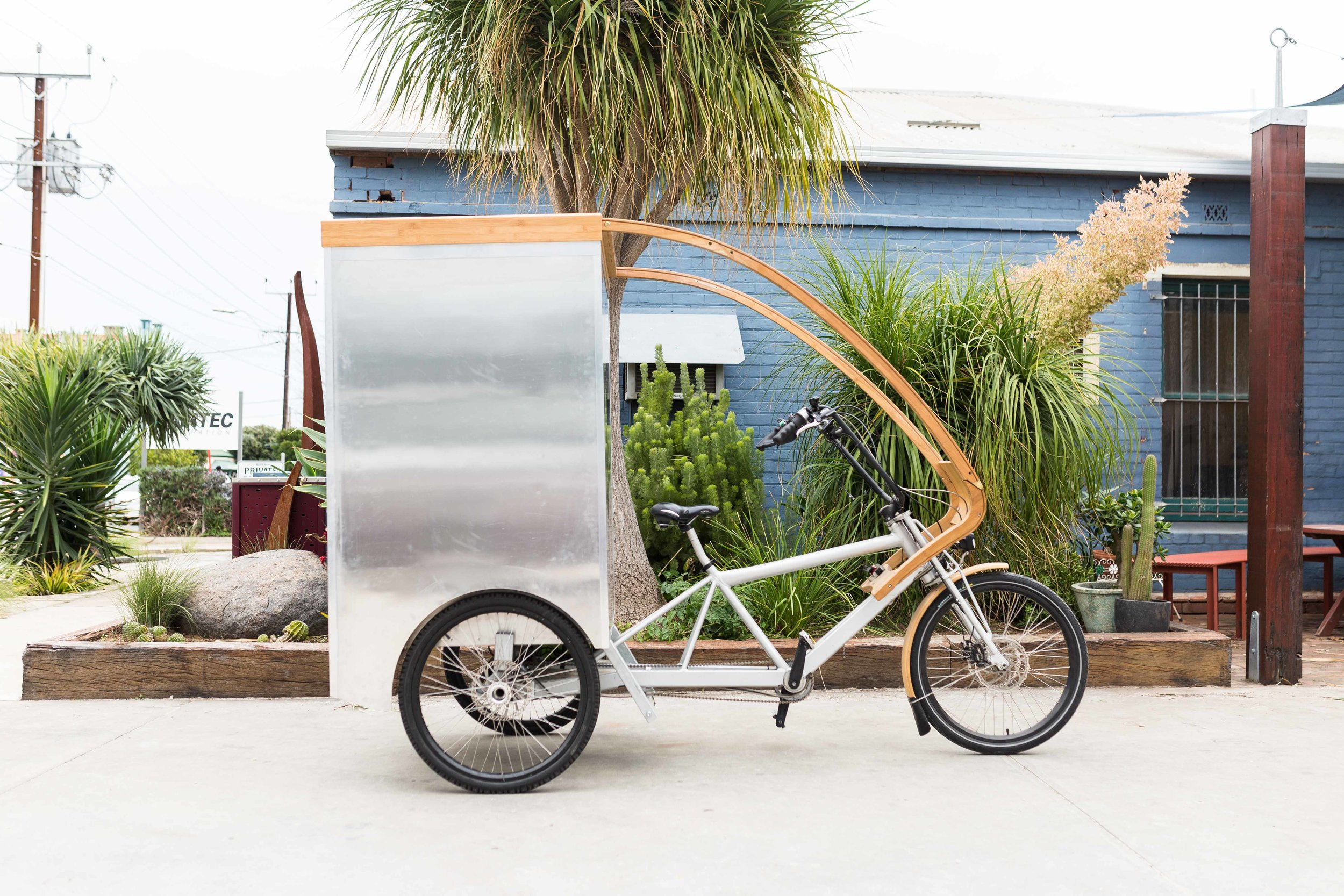 The EcoCaddy Delivery Trike - EcoCart