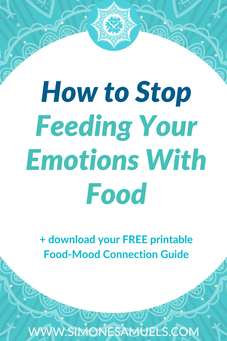 There are many emotional associations we have with food- positive and negative, When we eat because we are bored, lonely or tired we are triggered by our feelings and not physical hunger. Learning to be mindful, to deal with our emotions and connect with food in a positive way to support our mood can break the cycle of feeding our emotions.