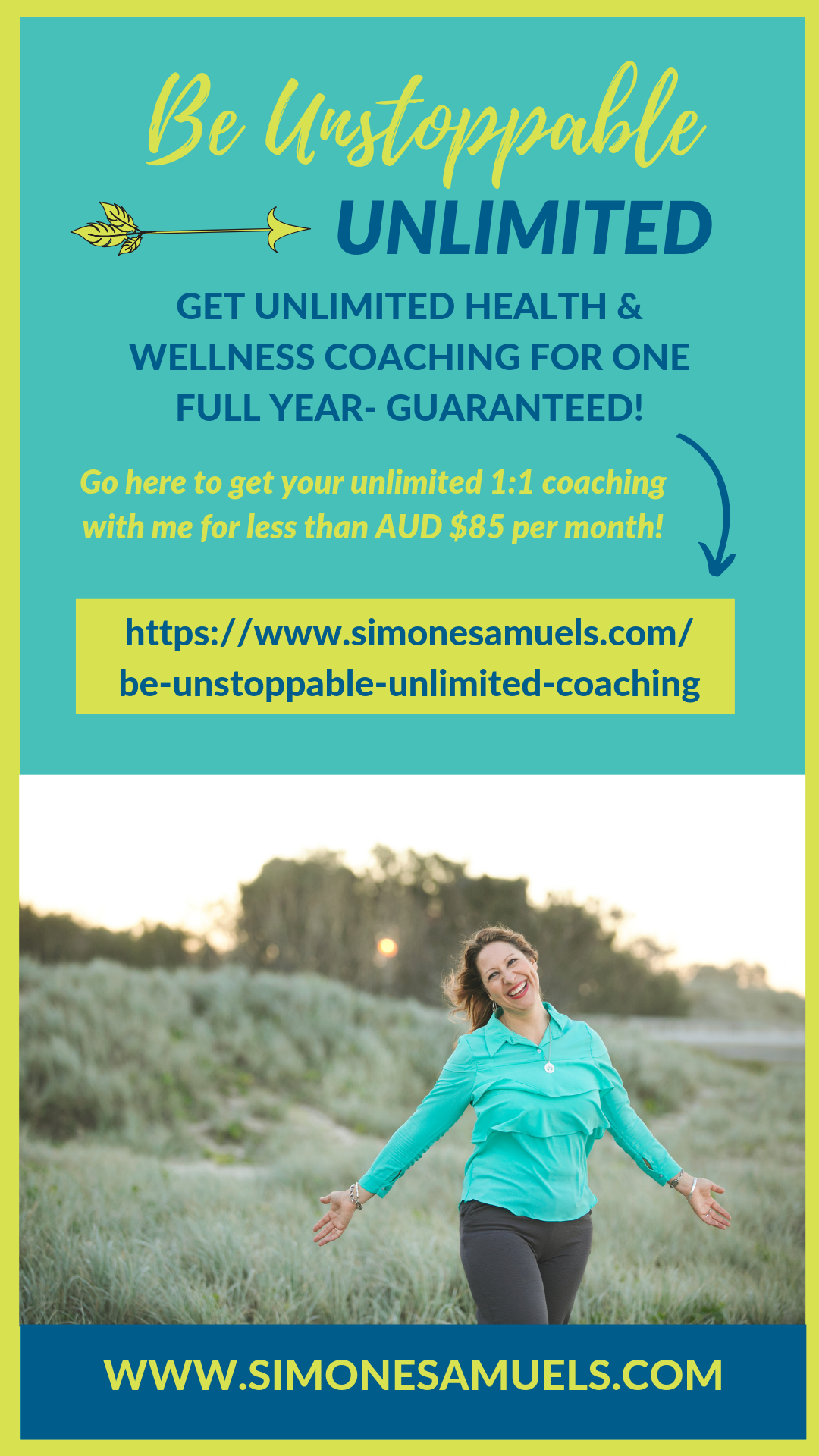 Be Unstoppable: Unlimited Health Coaching- Simone Samuels
