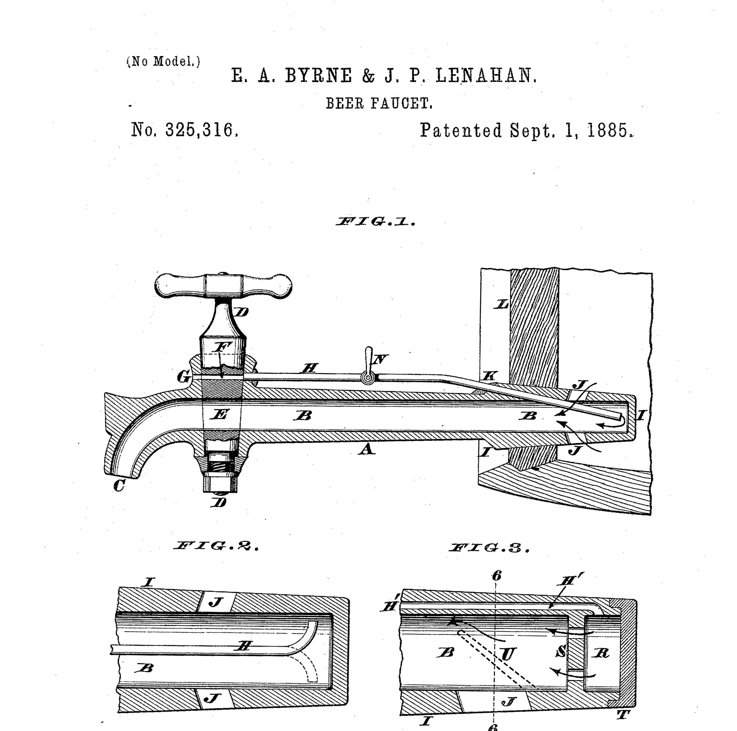 Patent Prints - Antique Patents from Beer, Wine, Liquor, Firearms, Automotive, and More!